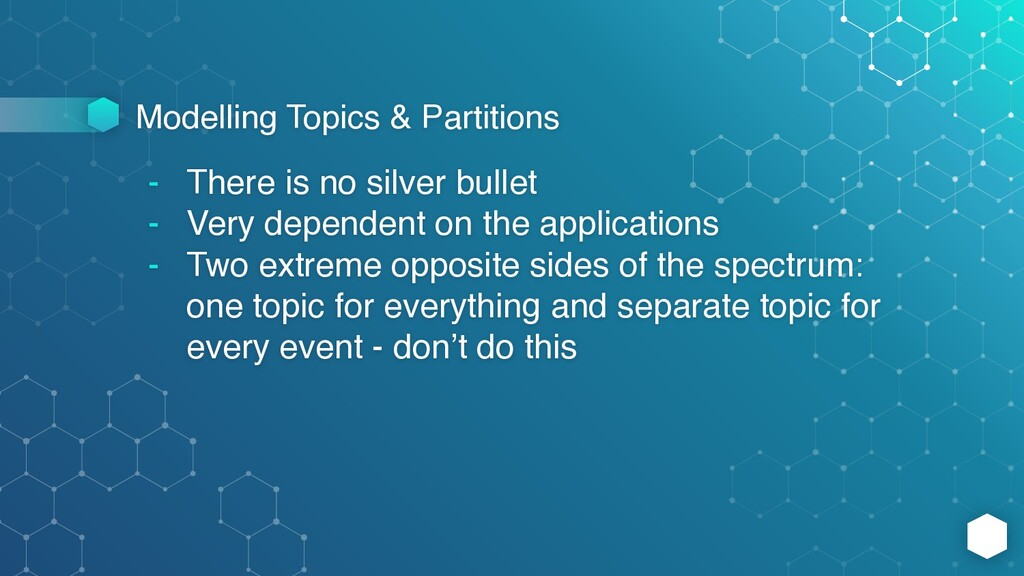 Modelling Topics & Partitions - There is no sil...