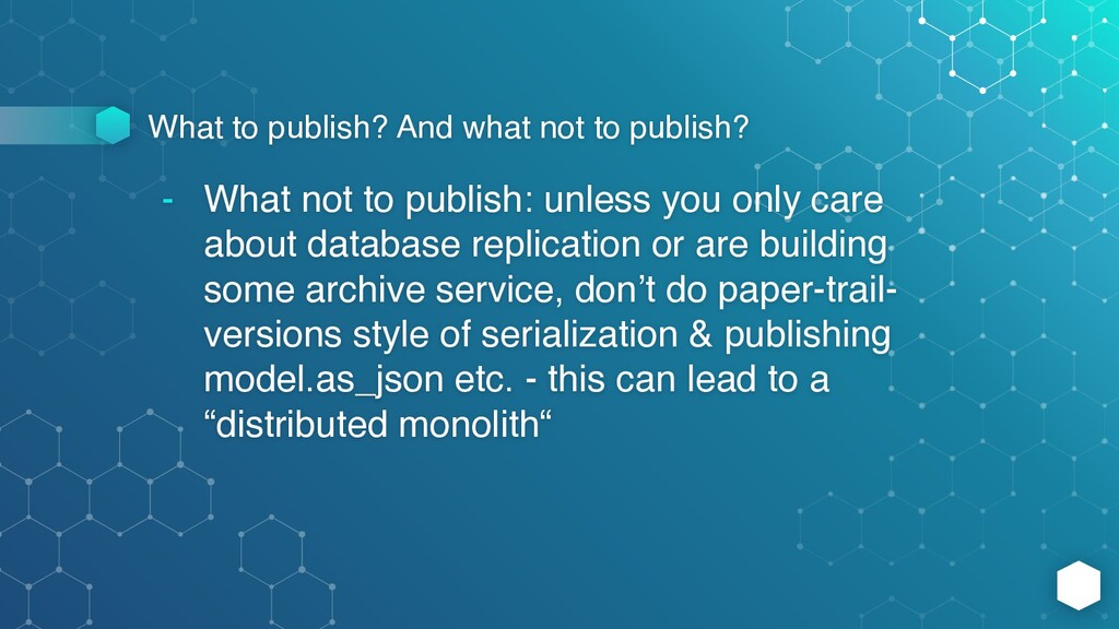 What to publish? And what not to publish? - Wha...