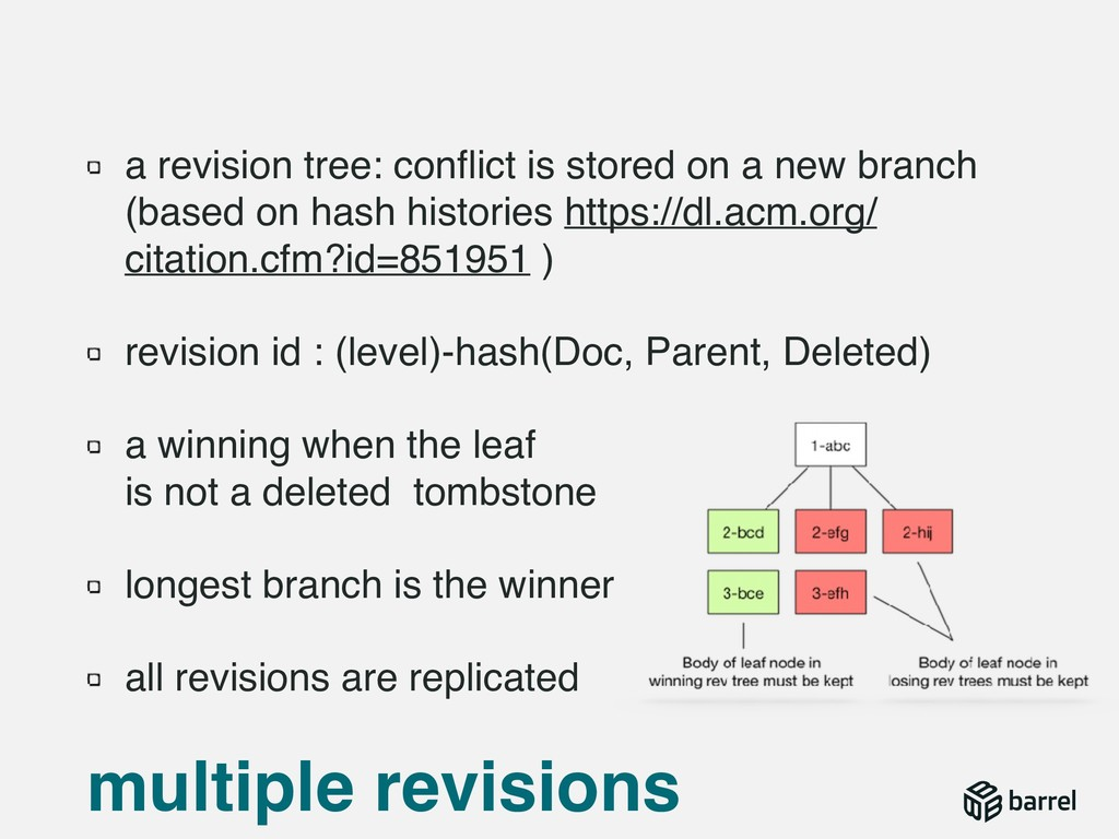 a revision tree: conflict is stored on a new bra...