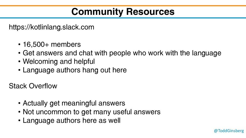 @ToddGinsberg Community Resources https://kotli...