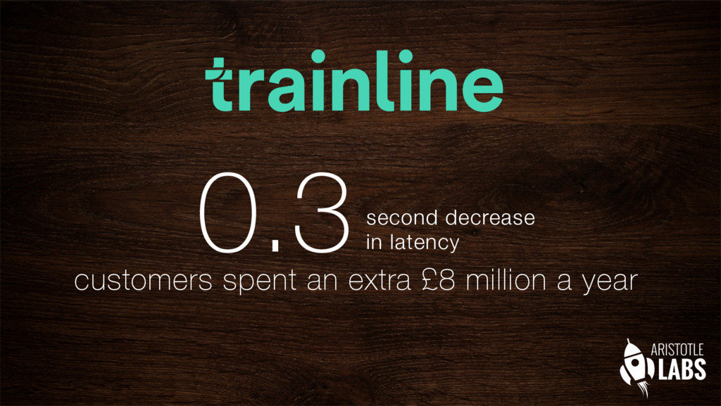 "0.3second decrease"" in latency