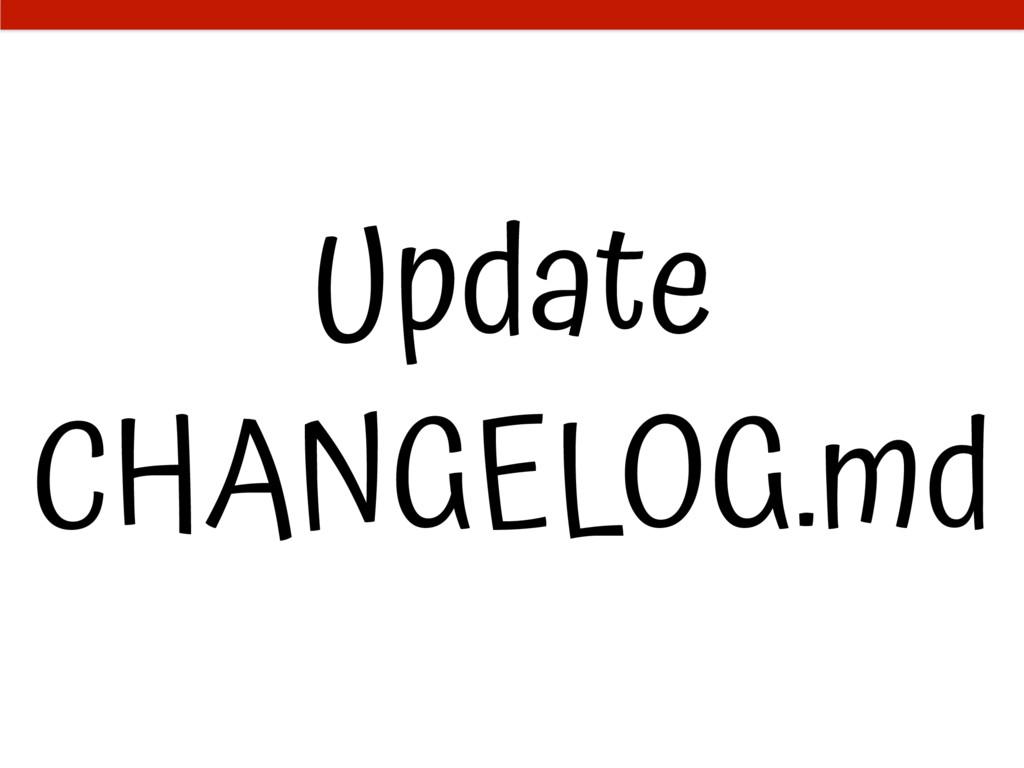 Update CHANGELOG.md