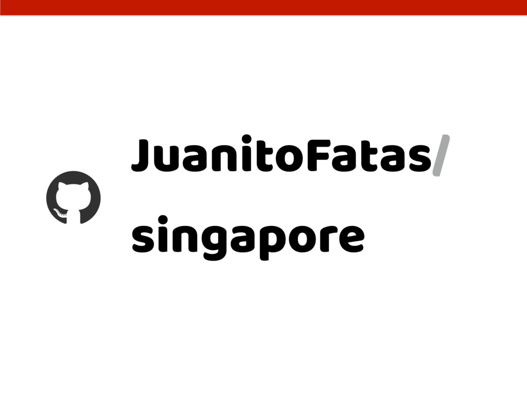 JuanitoFatas/ singapore
