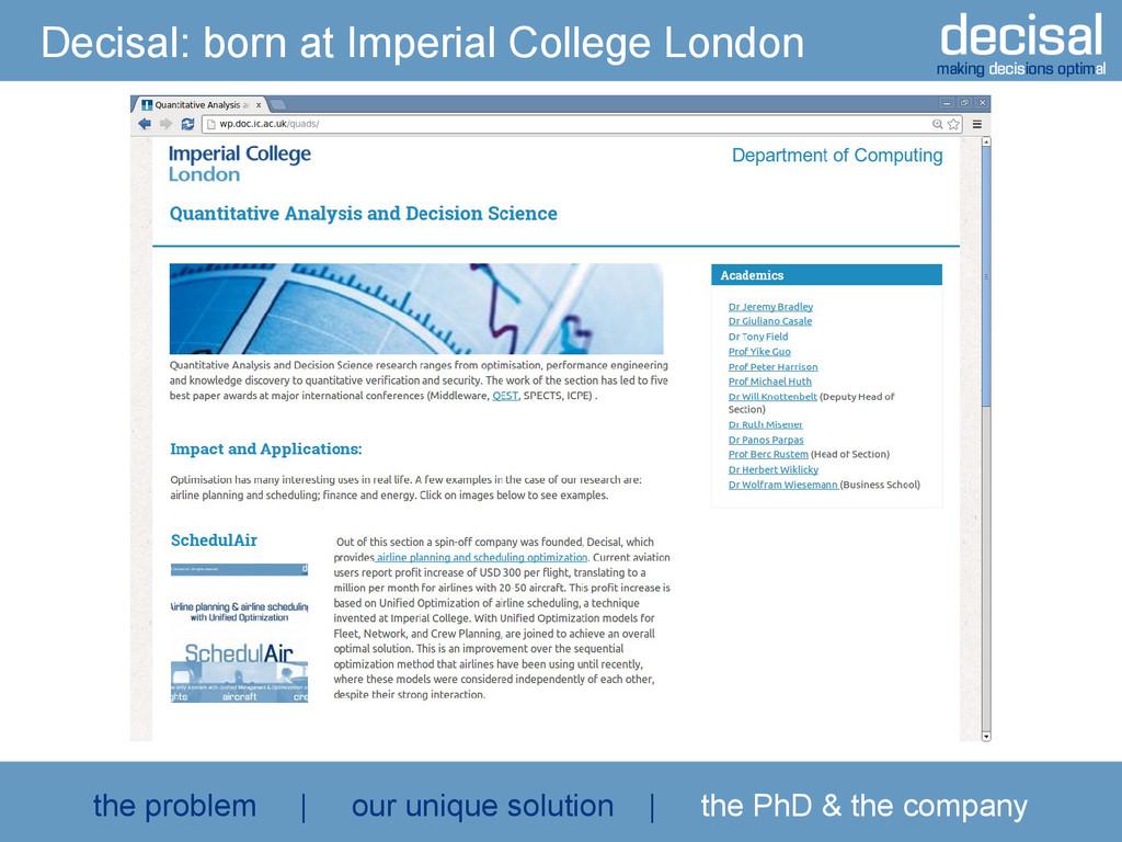 decisal making decisions optimal Decisal: born ...