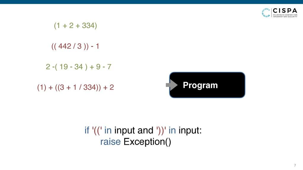 7 (1 + 2 + 334) (( 442 / 3 )) - 1 2 -( 19 - 34 ...
