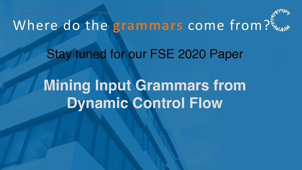 Where do the grammars come from? https://rahul....