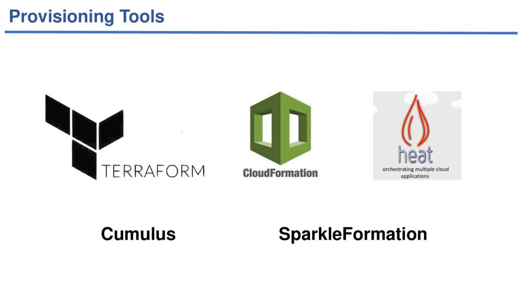 Provisioning Tools Cumulus SparkleFormation