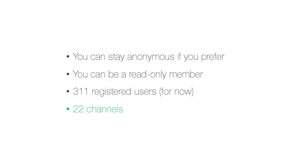 • You can stay anonymous if you prefer • You ca...
