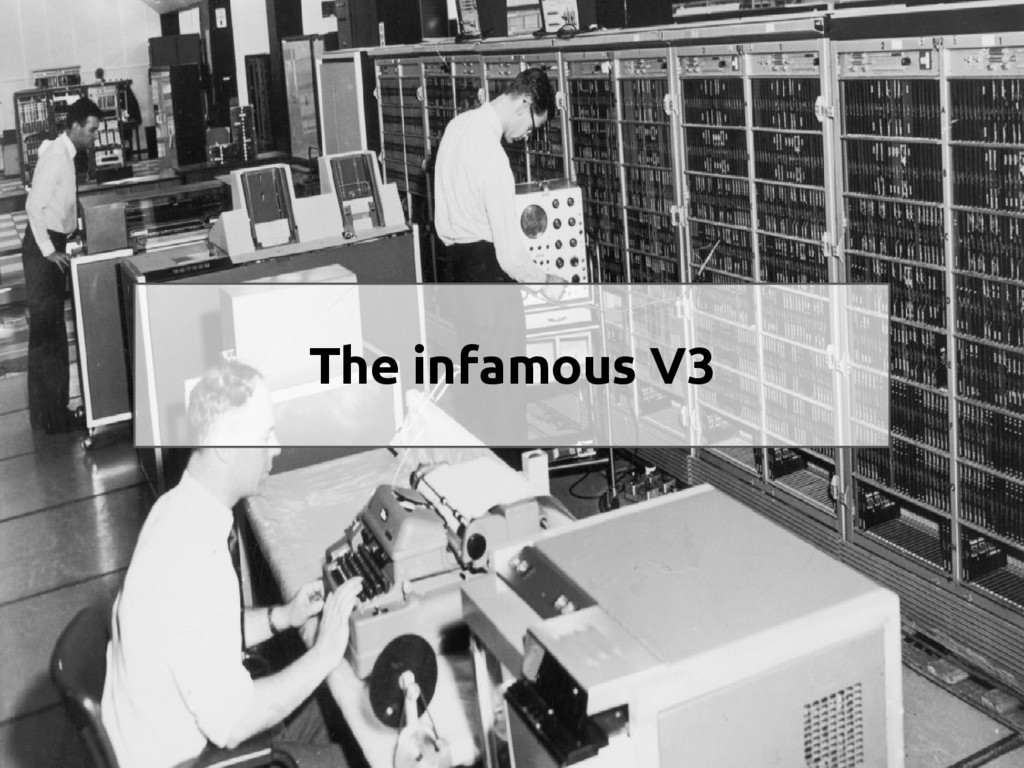 The infamous V3