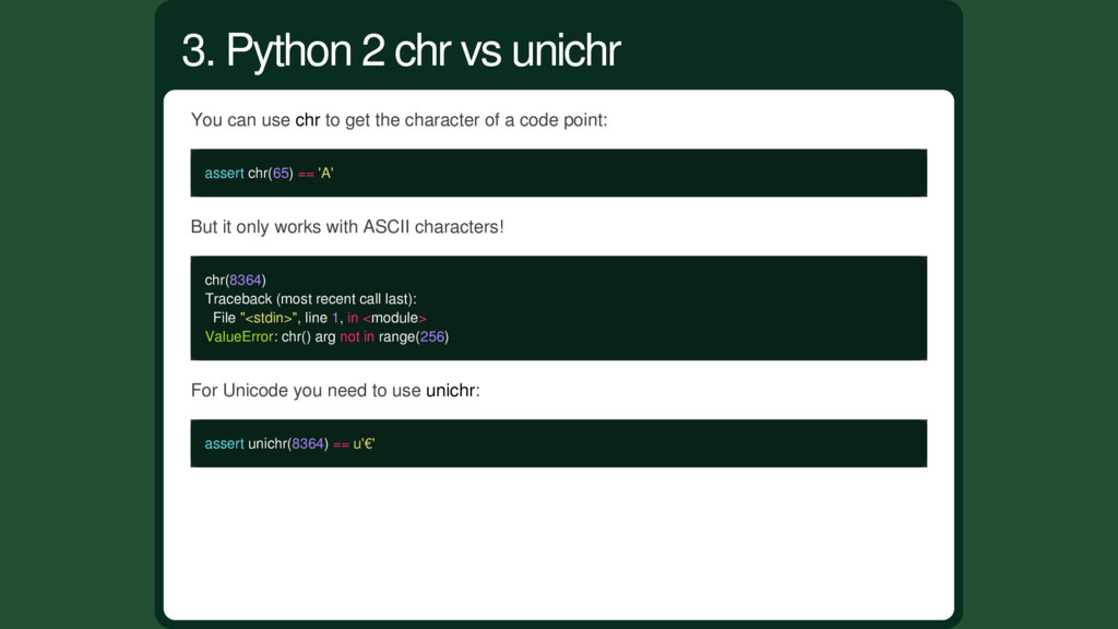 You can use chr to get the character of a code ...