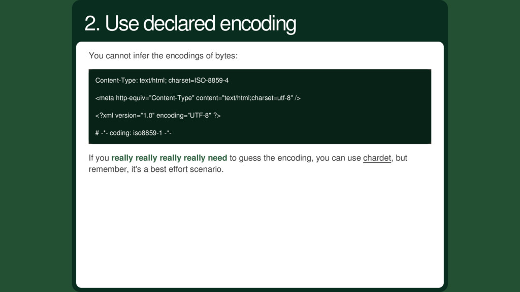 You cannot infer the encodings of bytes: Conten...