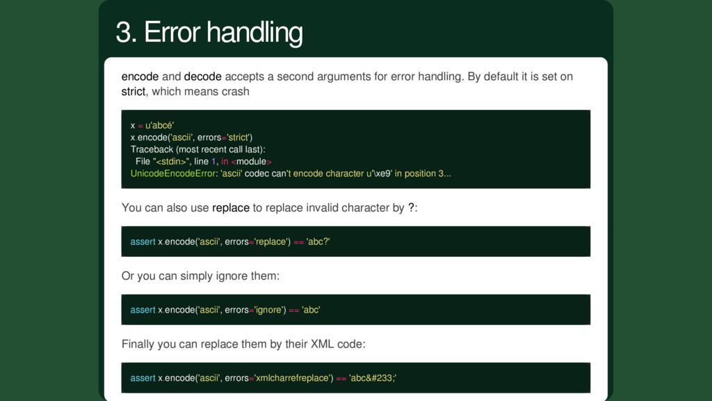 encode and decode accepts a second arguments fo...
