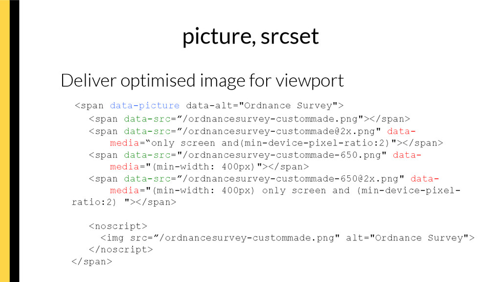 picture, srcset