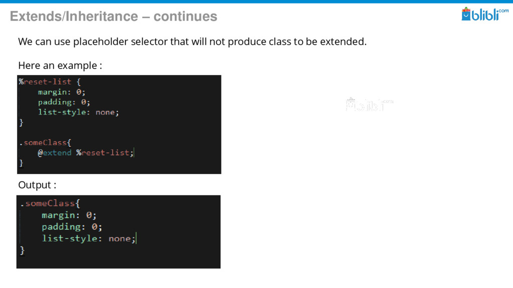 Extends/Inheritance – continues We can use plac...