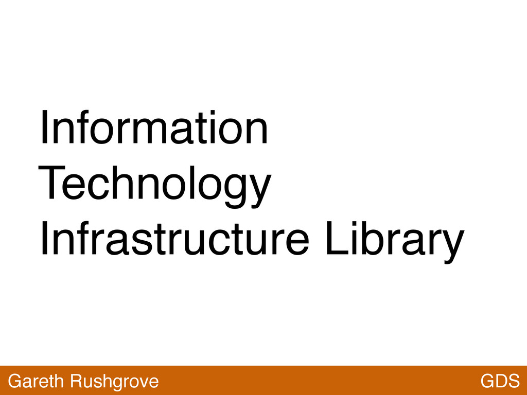 Information Technology Infrastructure Library G...