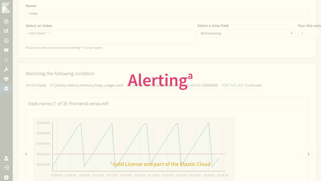 Alertinga a Gold License and part of the Elasti...