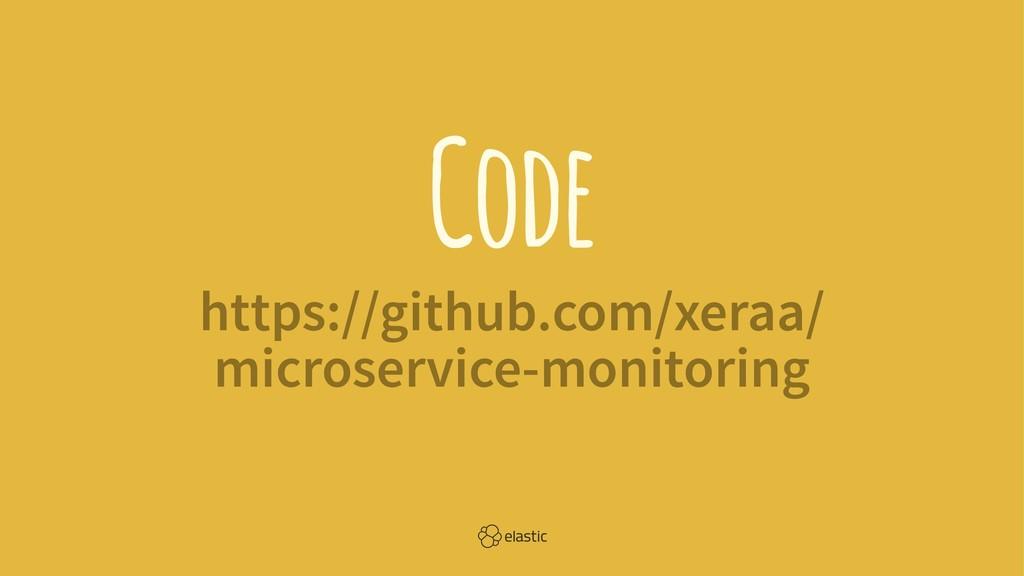 Code https://github.com/xeraa/ microservice-mon...