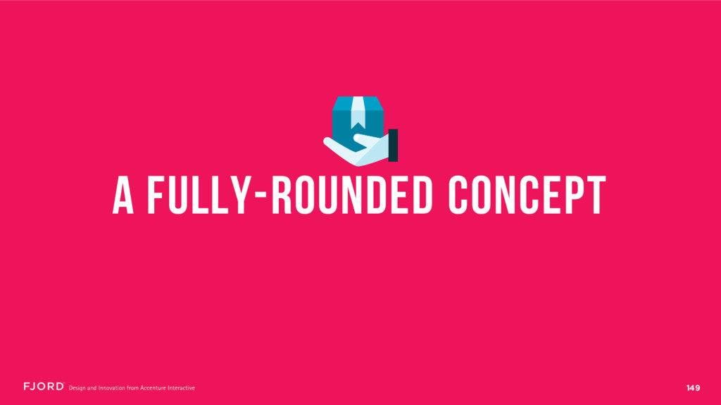 149 A FUlLY-ROUNDED CONCEPT
