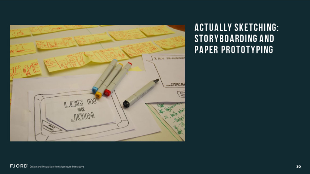 30 ACTUALLY SKETCHING: STORYBOARDING AND PAPER ...