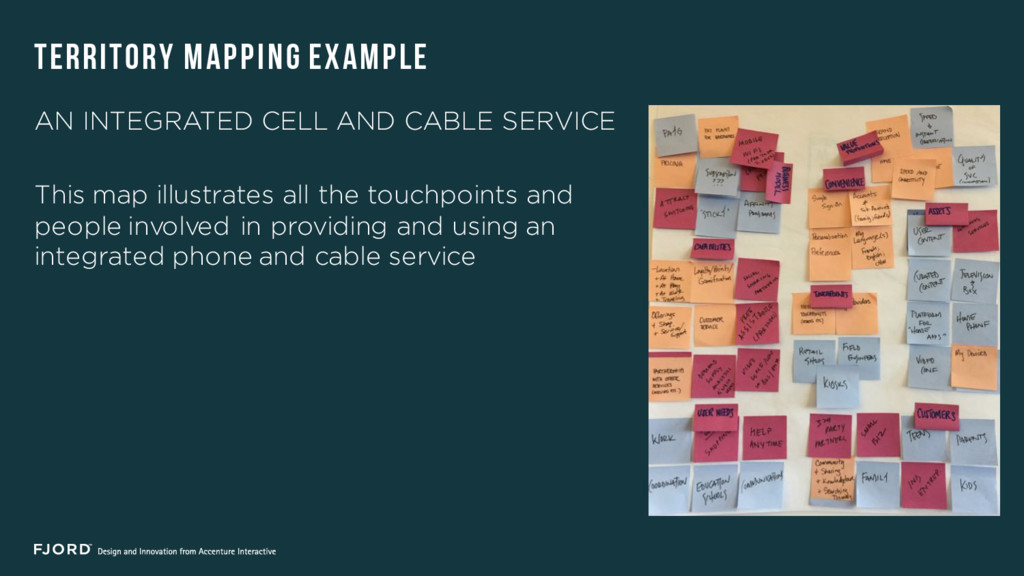AN INTEGRATED CELL AND CABLE SERVICE This map i...