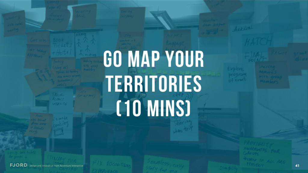 41 GO MAP YOUR TERRITORIES (10 MINS)
