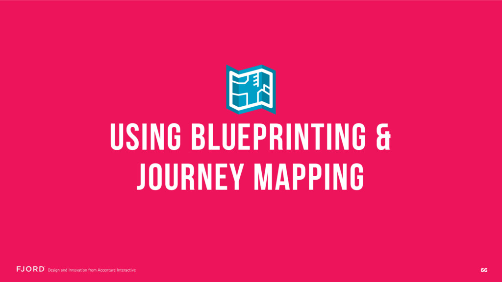 66 USING BLUEPRINTING & JOURNEY MAPPING
