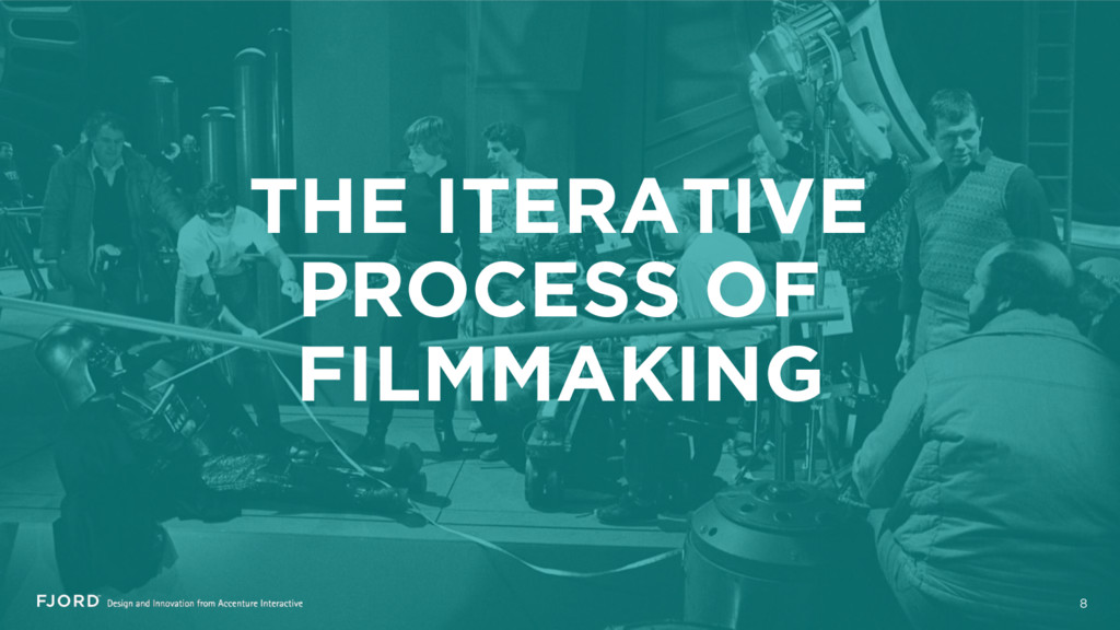 THE ITERATIVE PROCESS OF FILMMAKING 8