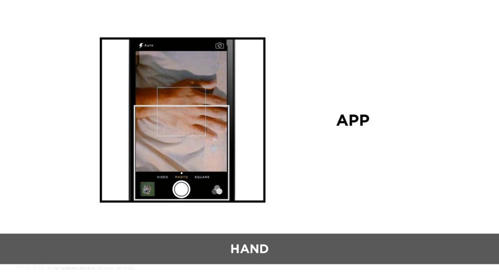 APP HAND