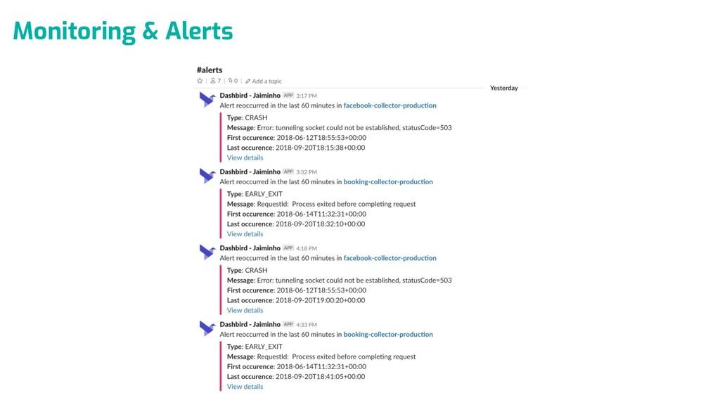 Monitoring & Alerts