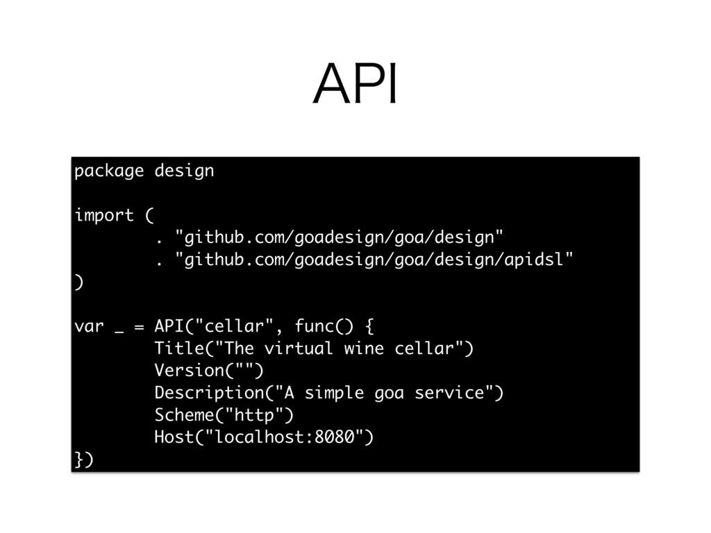 """""""1* package design import ( . """"github.com/goade..."""