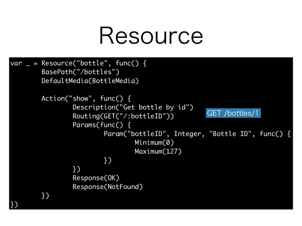 "3FTPVSDF var _ = Resource(""bottle"", func() { Ba..."