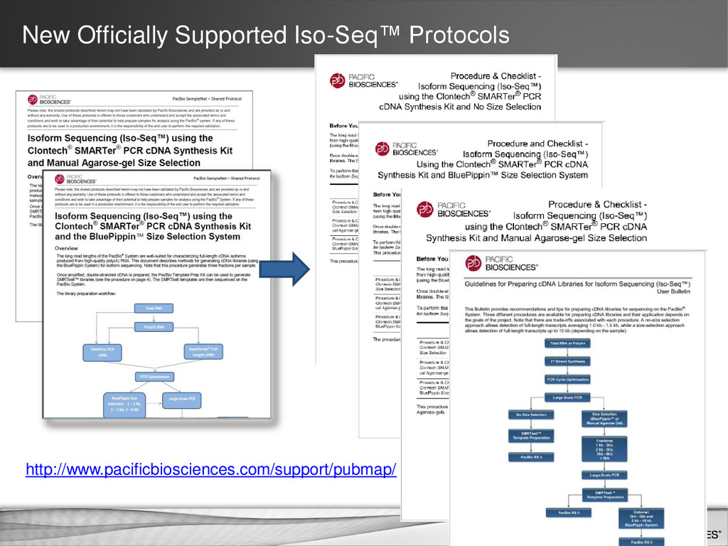 New Officially Supported Iso-Seq™ Protocols htt...