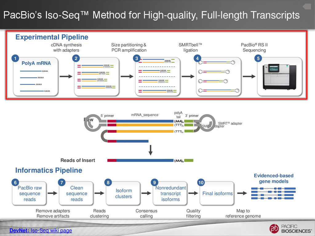PacBio's Iso-Seq™ Method for High-quality, Full...