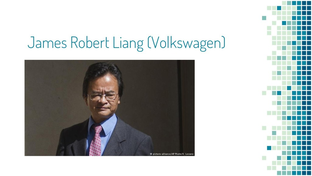 James Robert Liang (Volkswagen)
