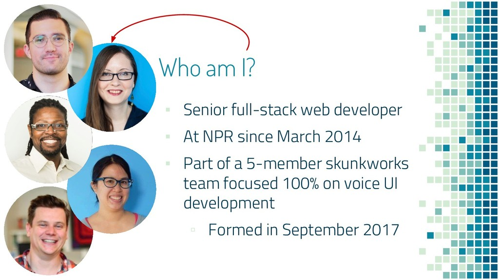 Who am I? ▪ Senior full-stack web developer ▪ A...