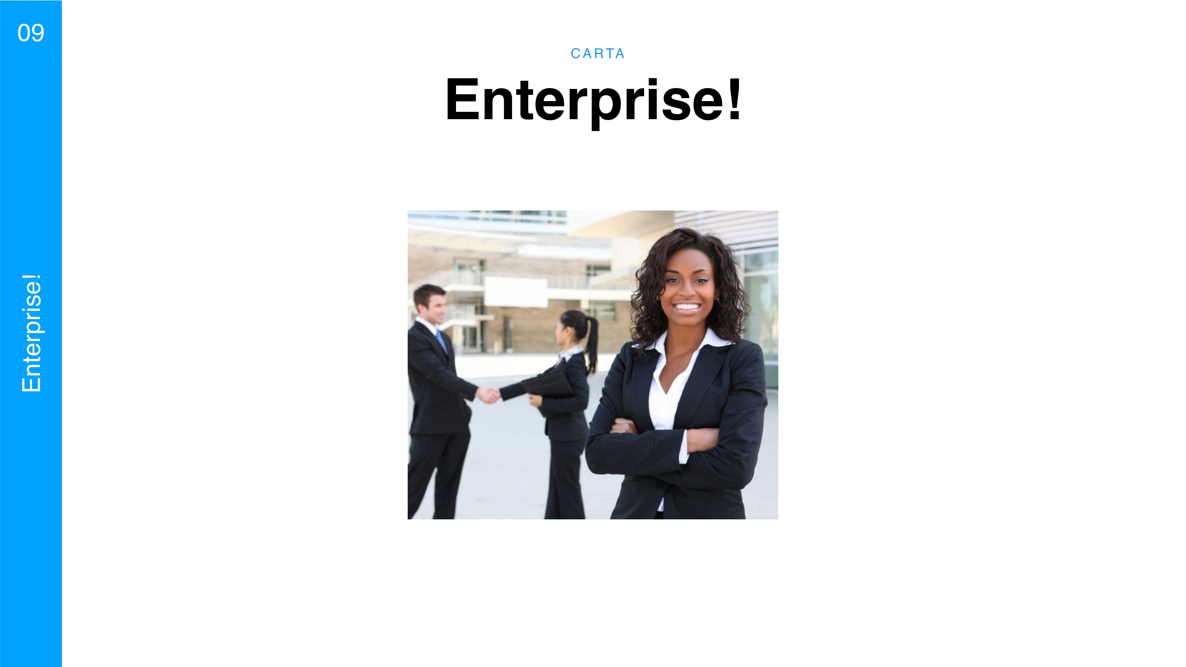 C A RTA 09 Enterprise! Enterprise!