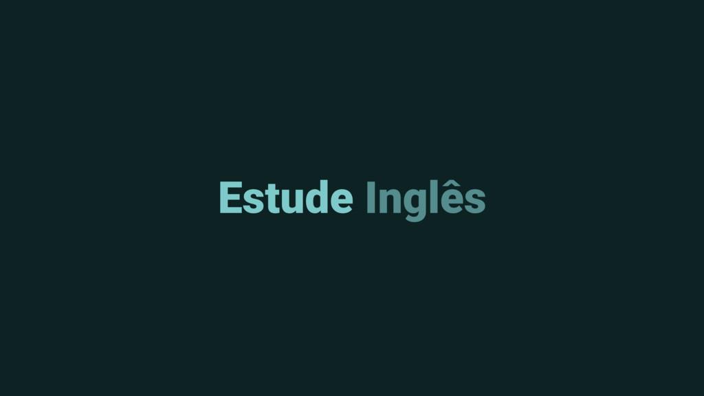 Estude Inglês