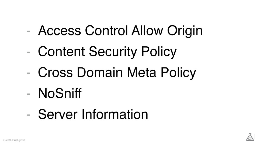 Access Control Allow Origin Content Security Po...