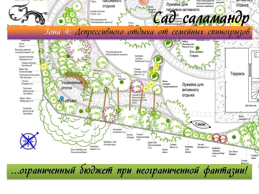 Сад саламандр Зона 4: Депрессивного отдыха от с...