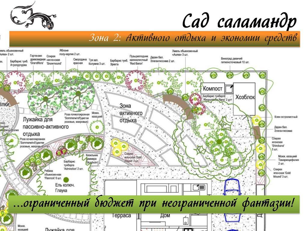 Сад саламандр Зона 2: Активного отдыха и эконом...