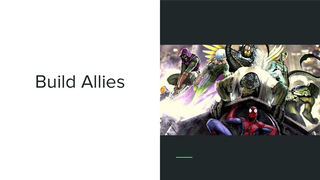 Build Allies