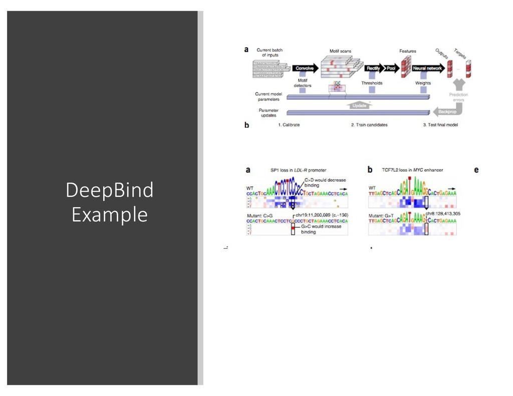 DeepBind Example
