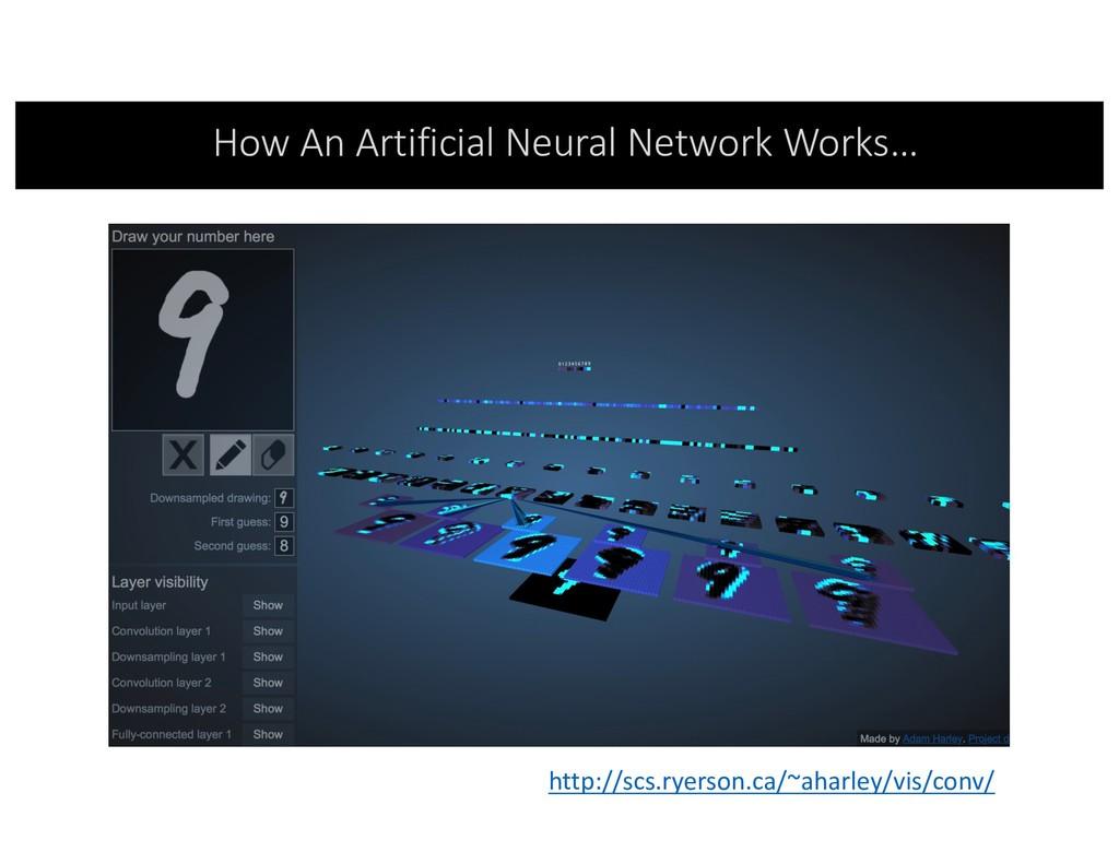 How An Artificial Neural Network Works… http://...