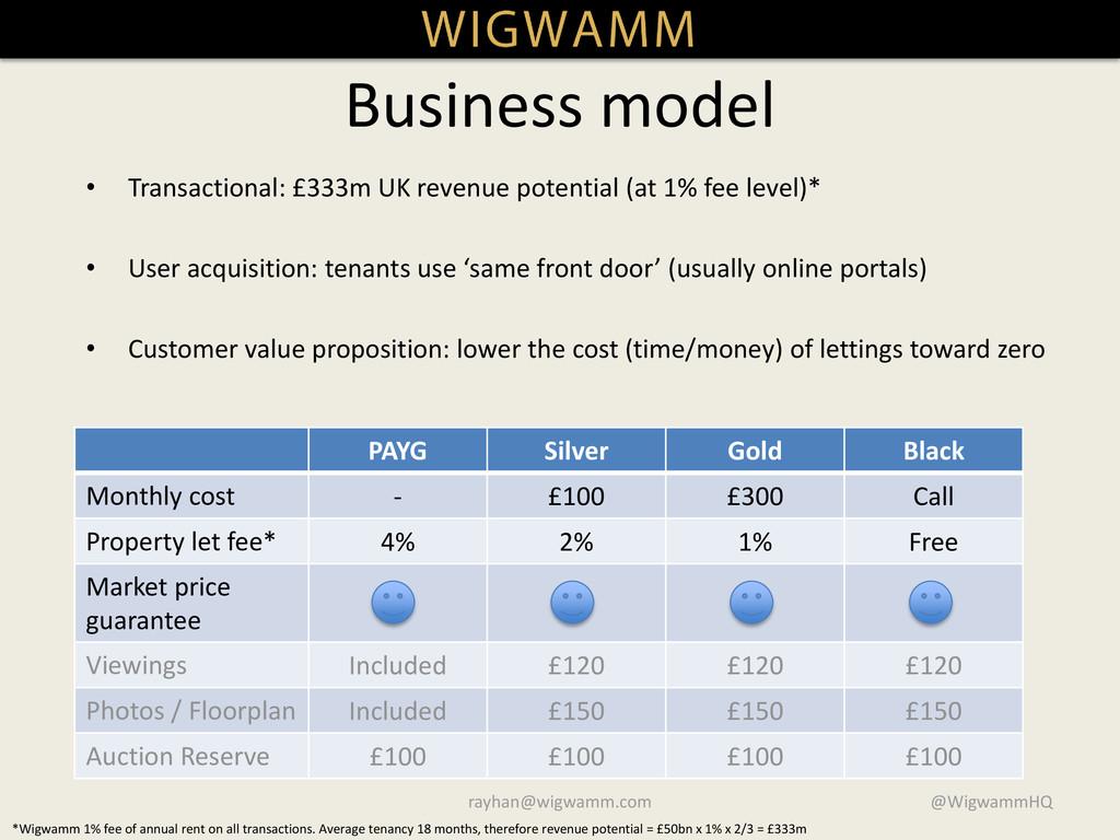 • Transactional: £333m UK revenue potential (at...