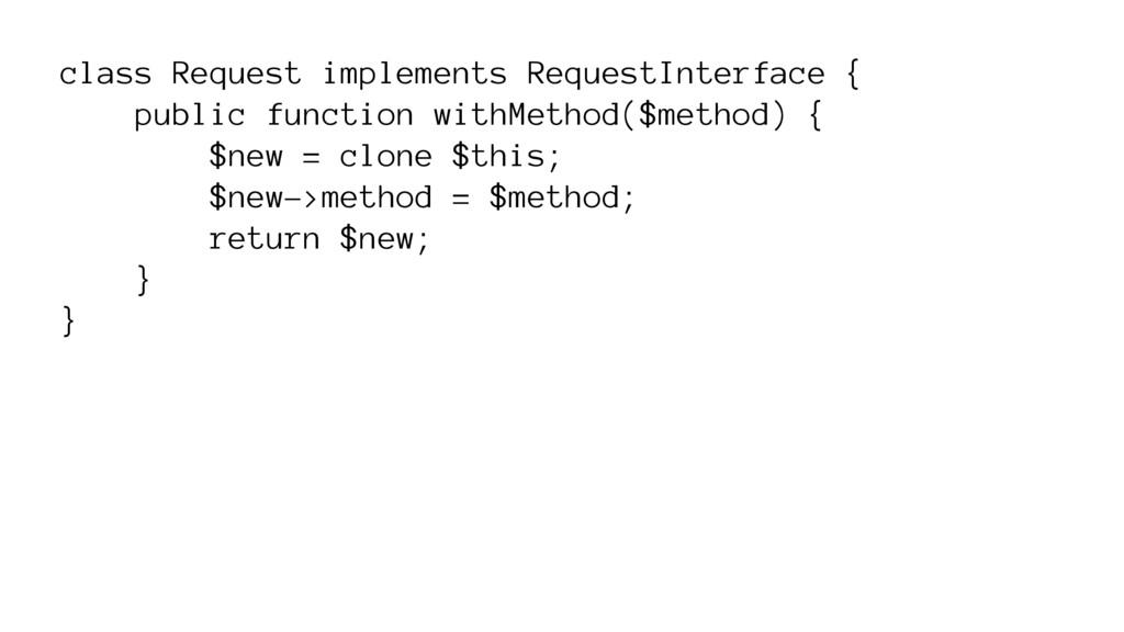 class Request implements RequestInterface { pub...