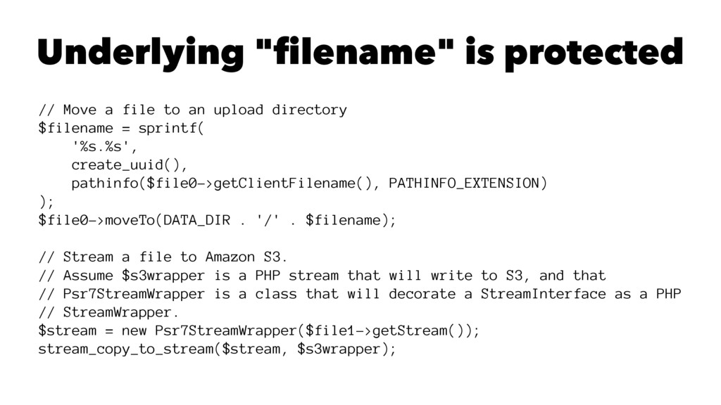 """Underlying """"filename"""" is protected // Move a fi..."""