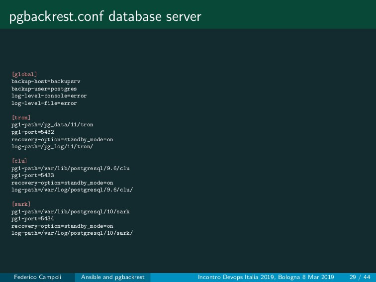 pgbackrest.conf database server [global] backup...