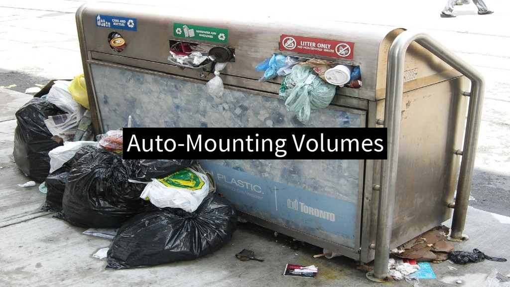 Auto-Mounting Volumes