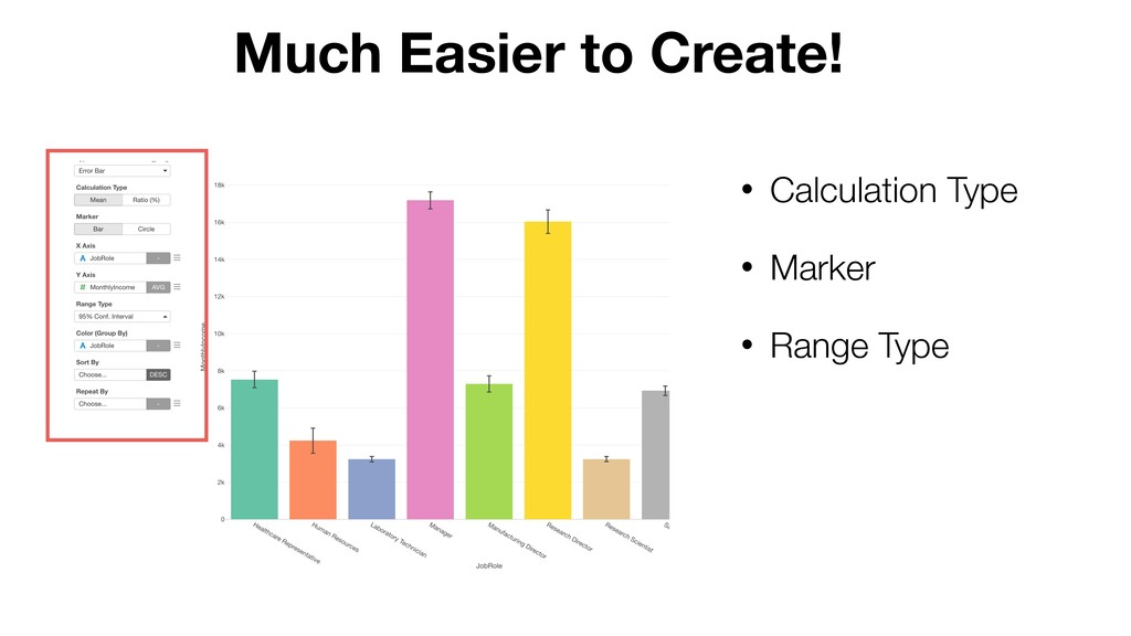 Much Easier to Create! • Calculation Type • Mar...