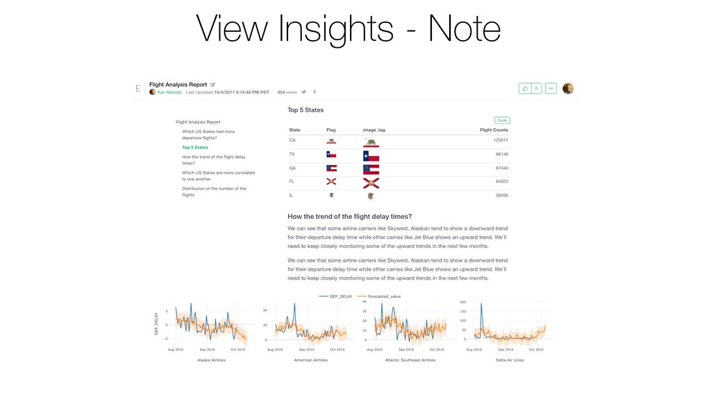 View Insights - Note